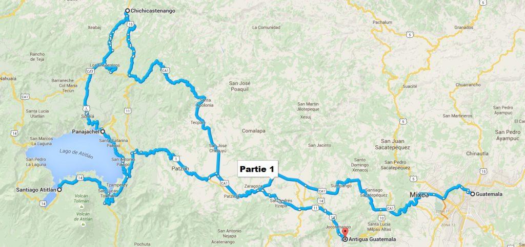 itinéraire partie 1